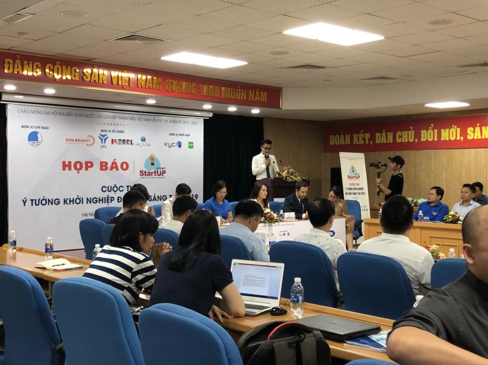 ALMA đồng hành cùng Trung tâm Hỗ trợ Thanh niên Khởi nghiệp tổ chức cuộc thi STARTUP HUNT 2019