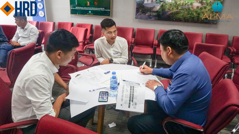 Công ty ALMA đồng hành cùng Học viện quản trị HRD Academy mang đến Kỹ năng phỏng vấn chuyên nghiệp