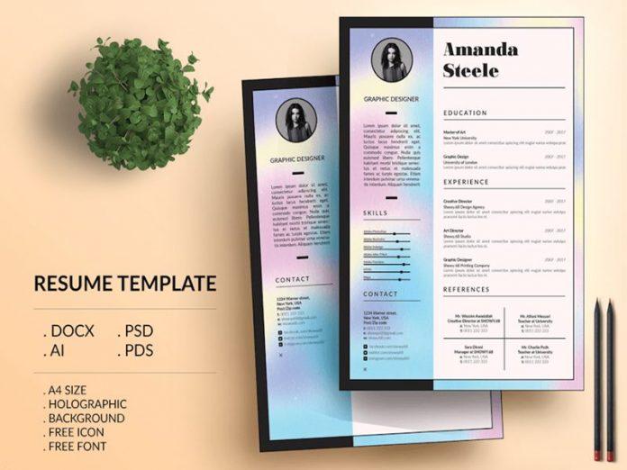 7 phong cách thiết kế CV ấn tượng tới nhà tuyển dụng