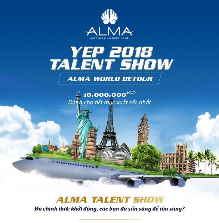 ALMA Talent Show - Bạn đã sẵn sàng để tỏa sáng?