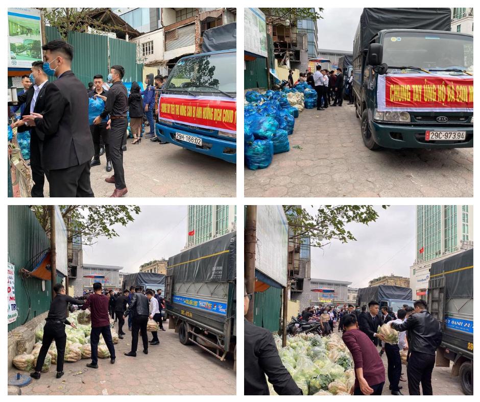 """Công ty Vịnh Thiên Đường chung tay """"giải cứu"""" nông sản Hải Dương"""