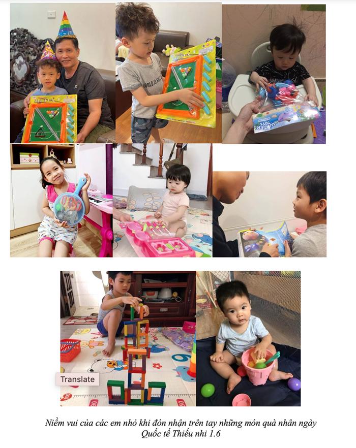Công ty ALMA tặng quà cho các bé trong ngày Quốc tế thiếu nhi